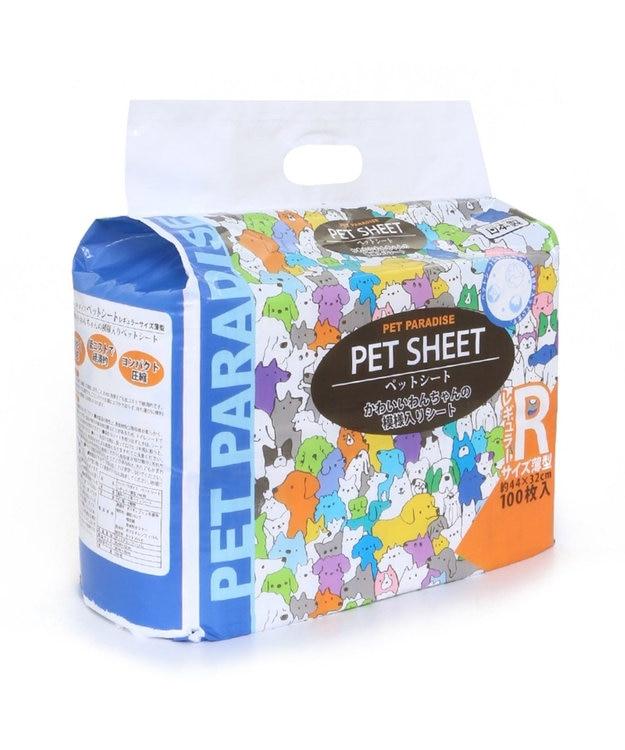 PET PARADISE ペットパラダイス ペットシート 薄型タイプ レギュラー 100枚 トイレ