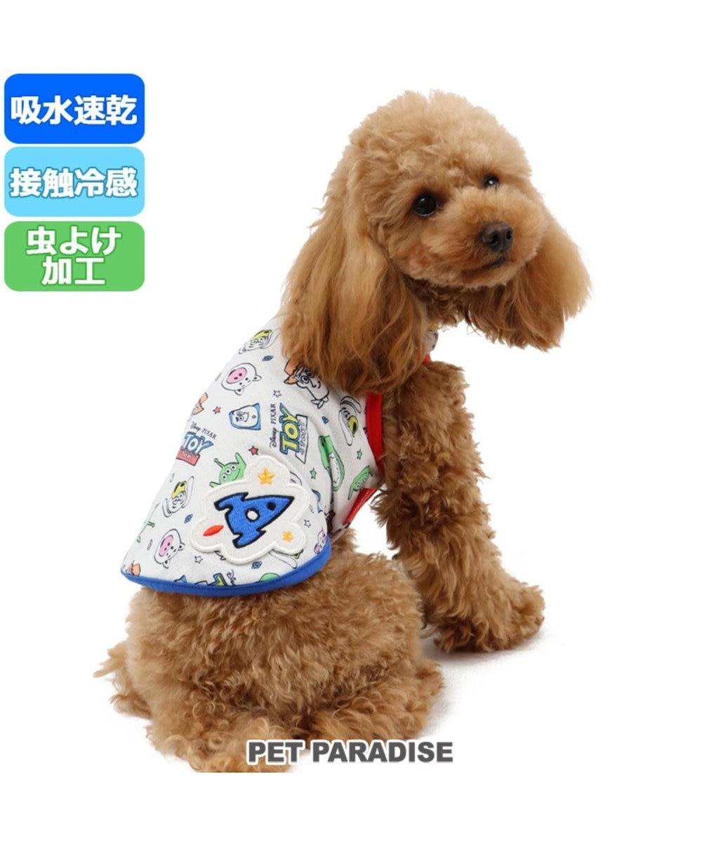 PET PARADISE ディズニー トイストーリー クールマックス タンク〔超小型・小型犬〕 白~オフホワイト