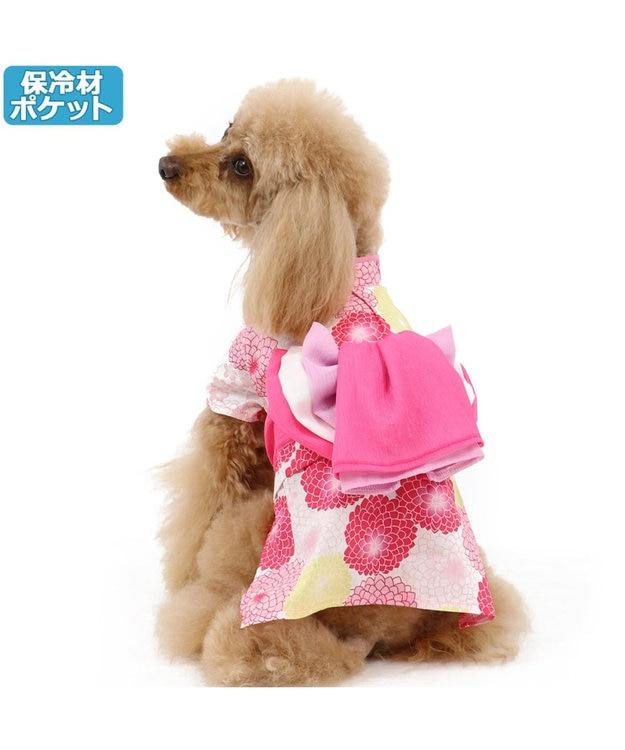 PET PARADISE ペットパラダイス 菊柄 浴衣 ポケットクール〔超小型・小型犬〕
