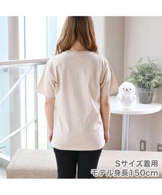 Mother garden [ネットショップ限定] しろたん どらやきUFO Tシャツ ユニセックス ベージュ