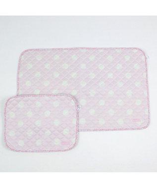 PET PARADISE ペットパラダイス ペット用マットM クール柔らかマット 水玉 ピンク(淡)