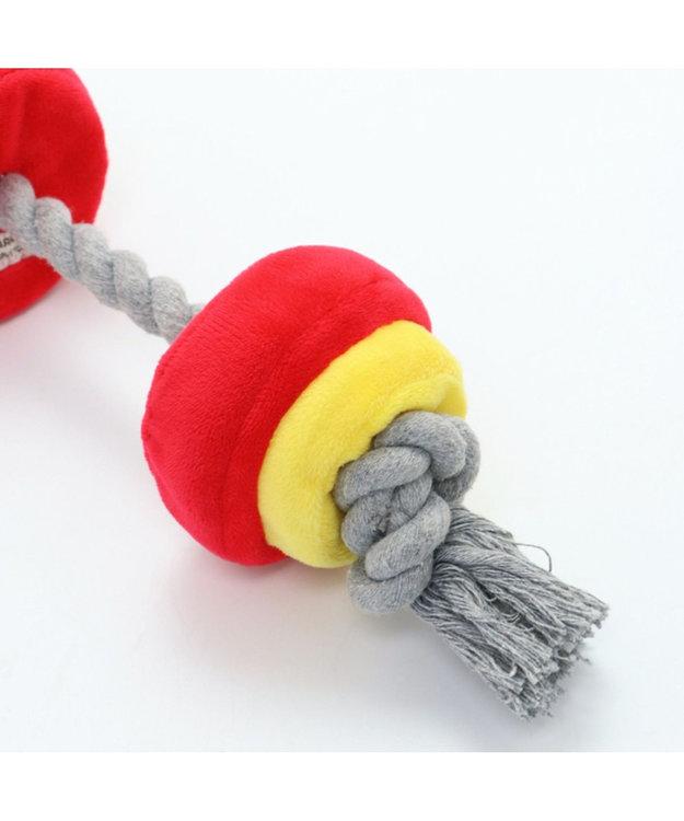 PET PARADISE ペットパラダイス バーベル 赤 犬用おもちゃ おもちゃ トイ