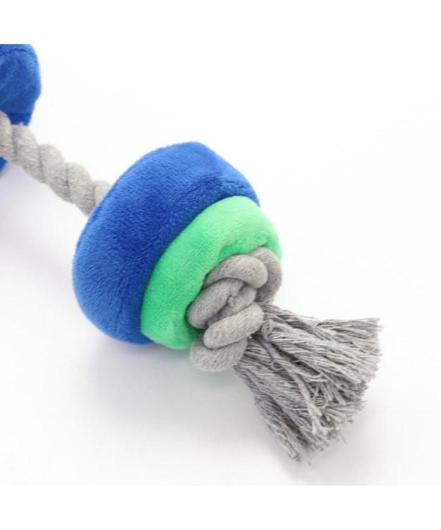 PET PARADISE ペットパラダイス バーベル 青 犬用おもちゃ おもちゃ トイ