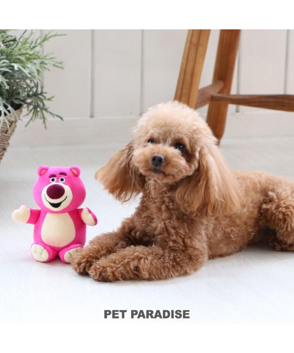 PET PARADISE ディズニー トイストーリー ロッツォ 犬用おもちゃ おもちゃ トイ ピンク(濃)