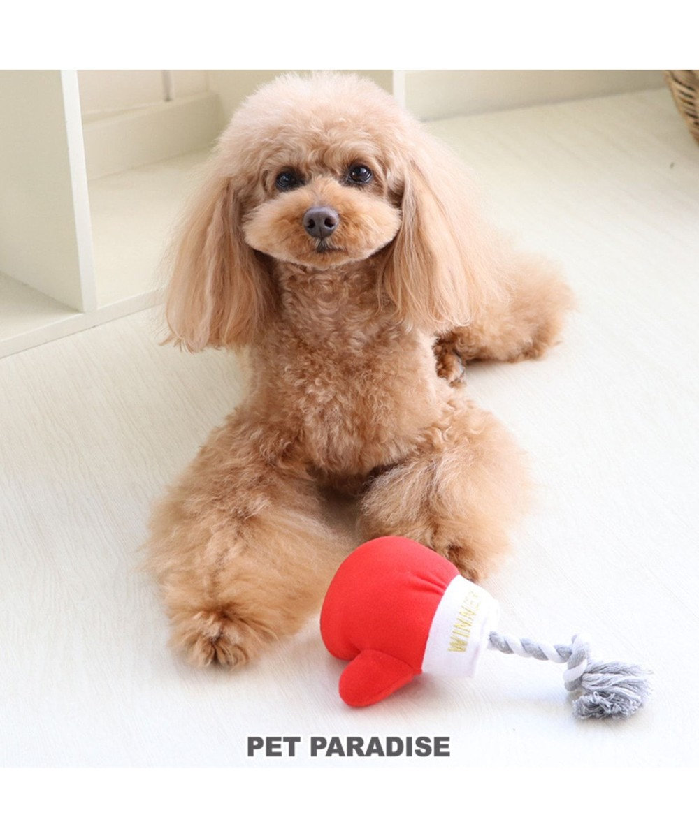 PET PARADISE ペットパラダイス ボクシング 赤 犬用おもちゃ おもちゃ トイ 赤