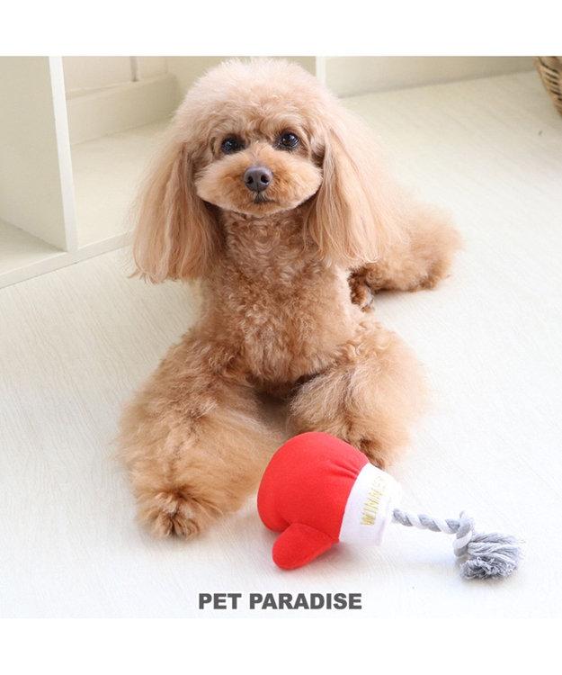 PET PARADISE ペットパラダイス ボクシング 赤 犬用おもちゃ おもちゃ トイ