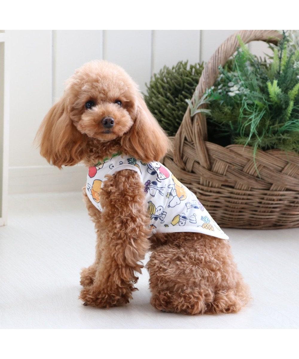 PET PARADISE スヌーピー 接触冷感 ポケットクール タンクトップ〔 超小型・小型犬〕 マルチカラー