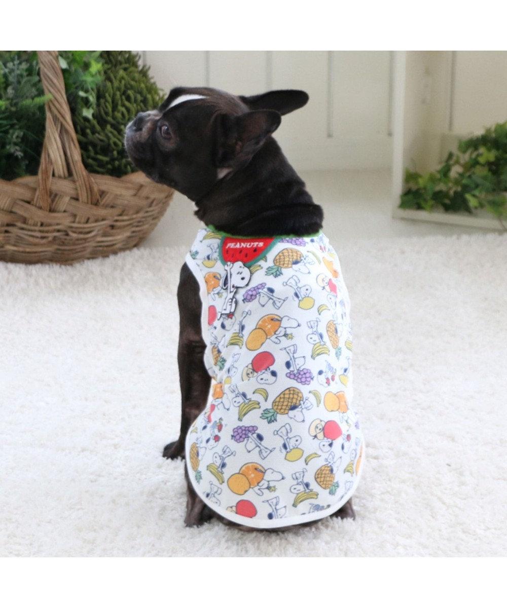 PET PARADISE スヌーピー 接触冷感 ポケットクール タンクトップ 〔中型犬〕918-54841 マルチカラー