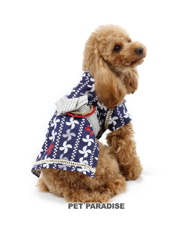 PET PARADISE ペットパラダイス 幾何学 浴衣 〔超小型・小型犬〕