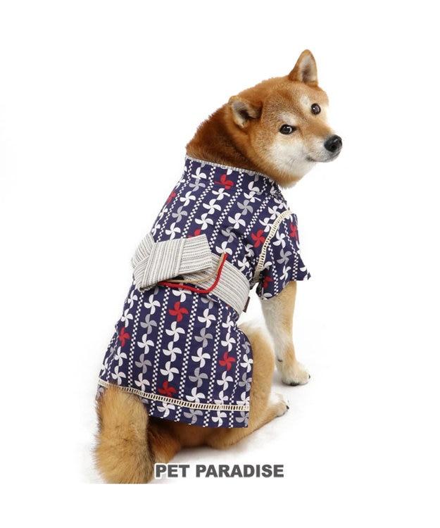 PET PARADISE ペットパラダイス 幾何学 浴衣 浴衣 〔中・大型犬〕
