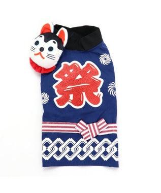 PET PARADISE ペットパラダイス 狛犬 お祭り 法被 〔超小型・小型犬〕 青