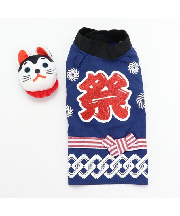 PET PARADISE ペットパラダイス 狛犬 お祭り 法被 〔超小型・小型犬〕