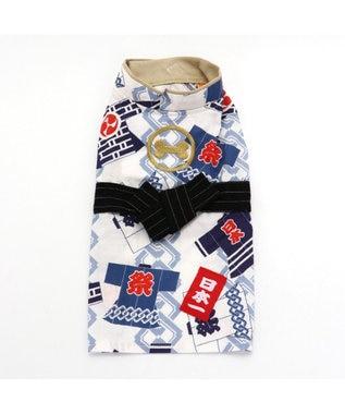 PET PARADISE ペットパラダイス 祭り 浴衣 ポケットクール 〔超小型・小型犬〕 青