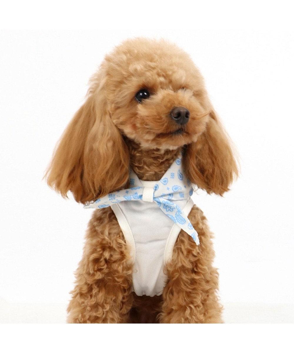 PET PARADISE ペットパラダイス タッチワンクール バンダナ付きタンク[小型犬] 白~オフホワイト