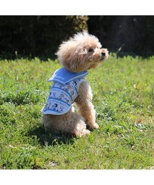 PET PARADISE スヌーピー ポケットクール タンク[中型犬] 水色