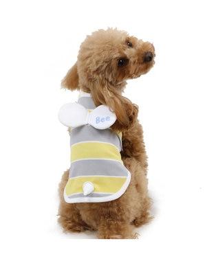 PET PARADISE ペットパラダイス 蜂 タンクトップ ポケットクール〔超小型・小型犬〕 黄