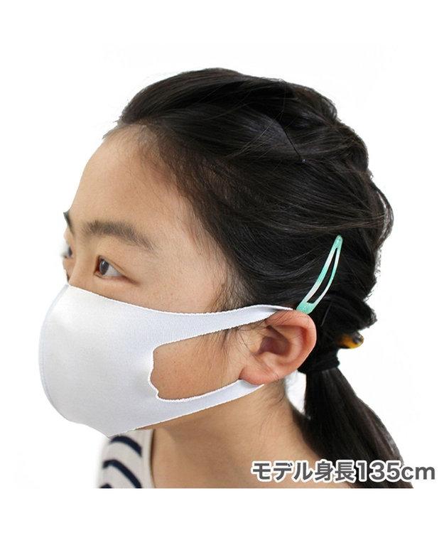 Mother garden 洗える立体マスク 子ども用 白色 5枚セット