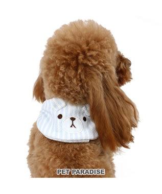 PET PARADISE ペットパラダイス ポケットクール バンダナ くま ペット3S/SS/S 青