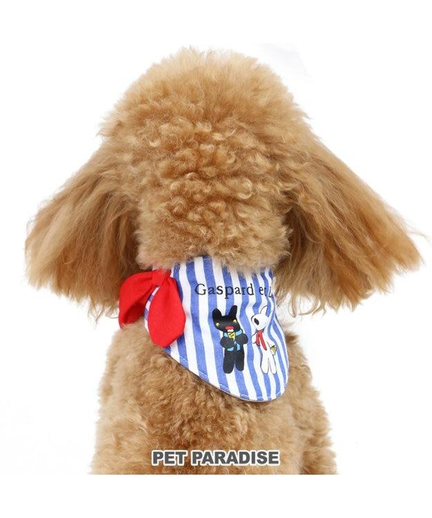PET PARADISE リサとガスパール ストライプ ポケットクール バンダナ 3S/SS/S