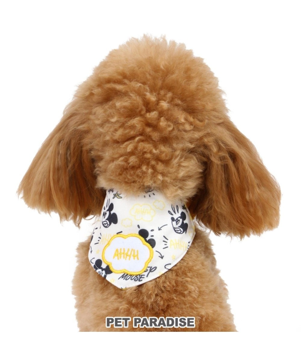PET PARADISE ディズニー ミッキーマウス ポケットクール バンダナ 3S/SS/S 黄