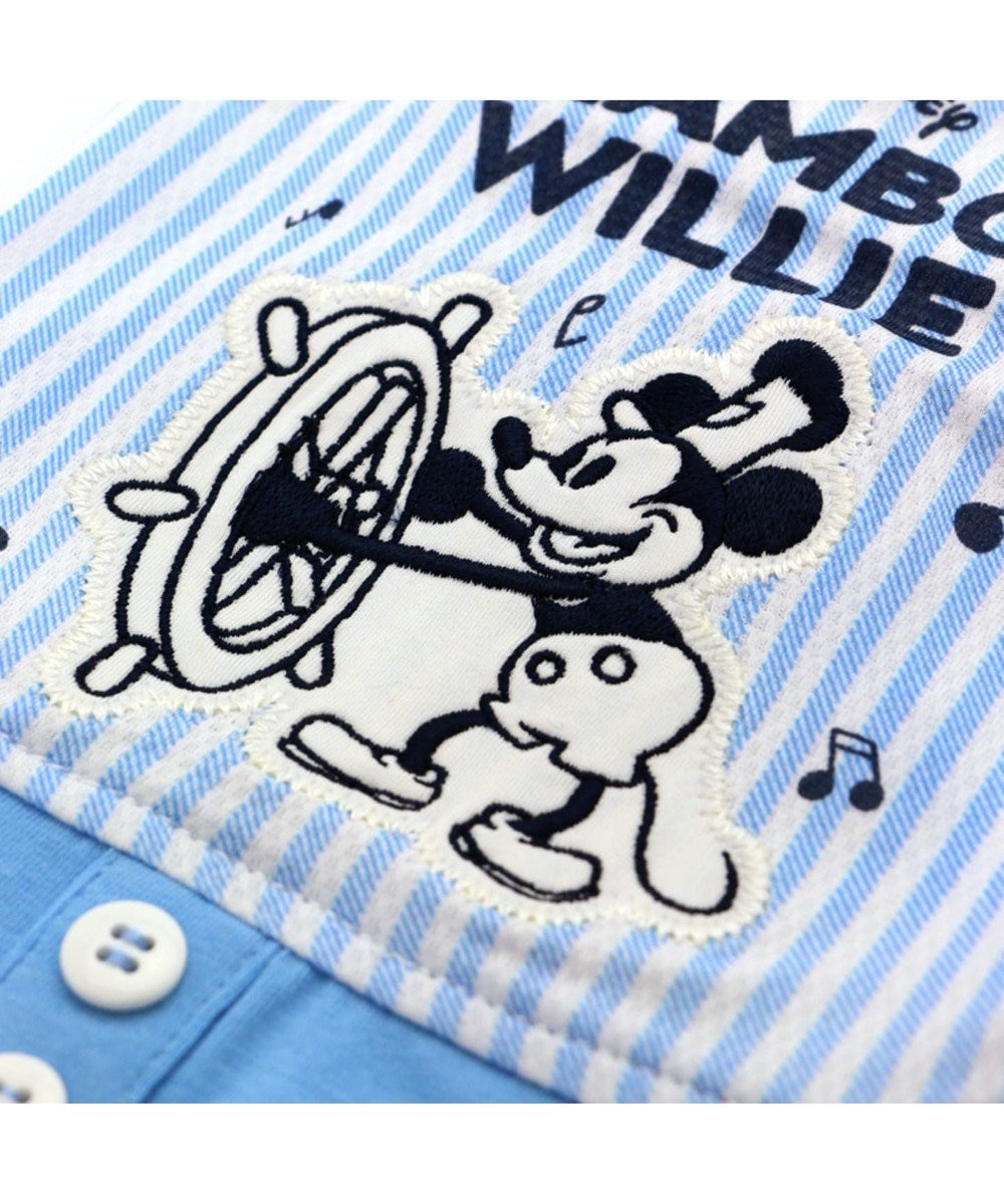 PET PARADISE ミッキーマウス ウィリー ポケットクール タンクトップ 白~オフホワイト