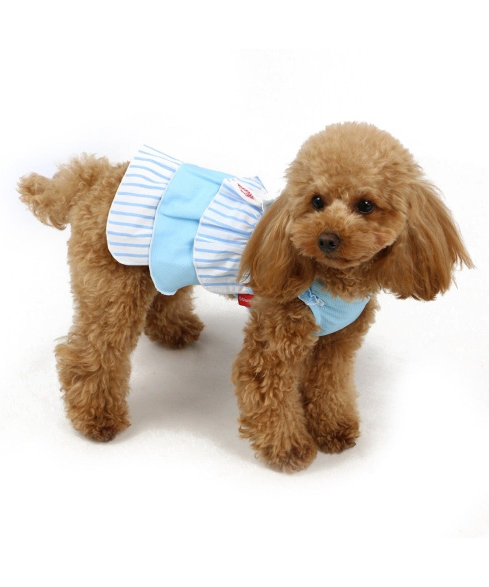 PET PARADISE ミニーマウス ポケットクール ワンピース〔超小型・小型犬〕 水色