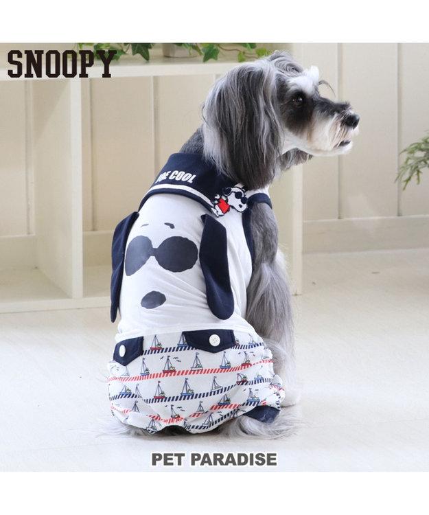 PET PARADISE スヌーピー ジョークール ロンパース タッチワンクール