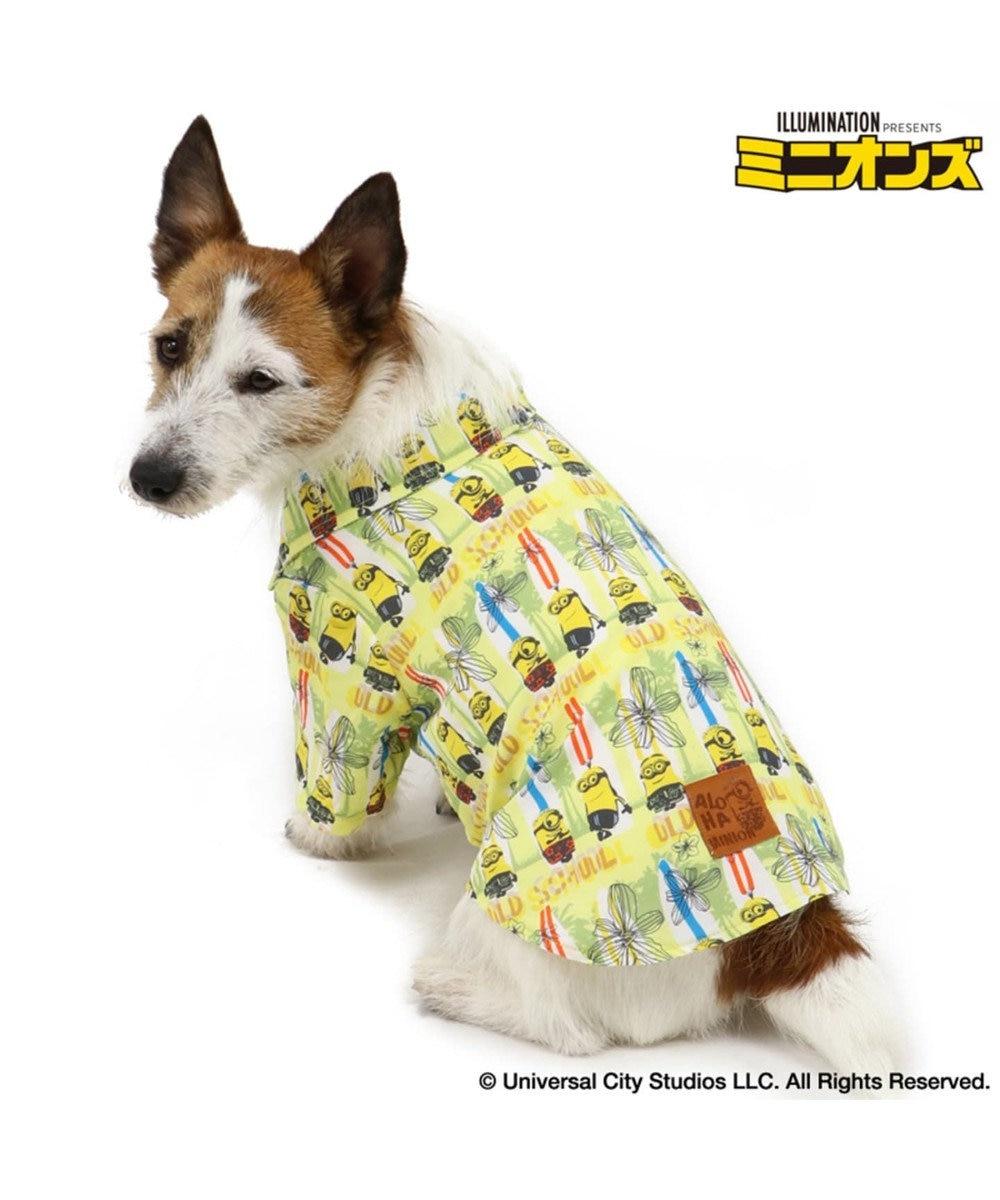 PET PARADISE ミニオン サーフ アロハシャツ〔超小型・小型犬〕 黄