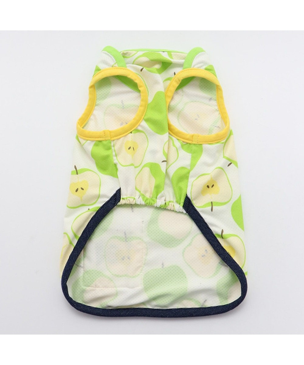 PET PARADISE Lee クールマックス 青リンゴ メッシュ タンクトップ 黄緑