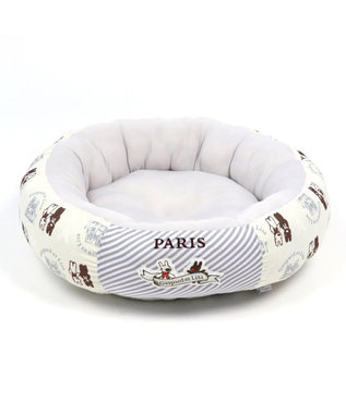 PET PARADISE リサとガスパール クール サーフ カドラー 丸(55cm) グレー