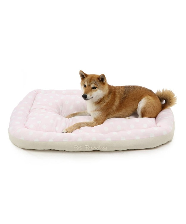PET PARADISE ペットパラダイス クール カドラー ベッド 四角L(100cm)白