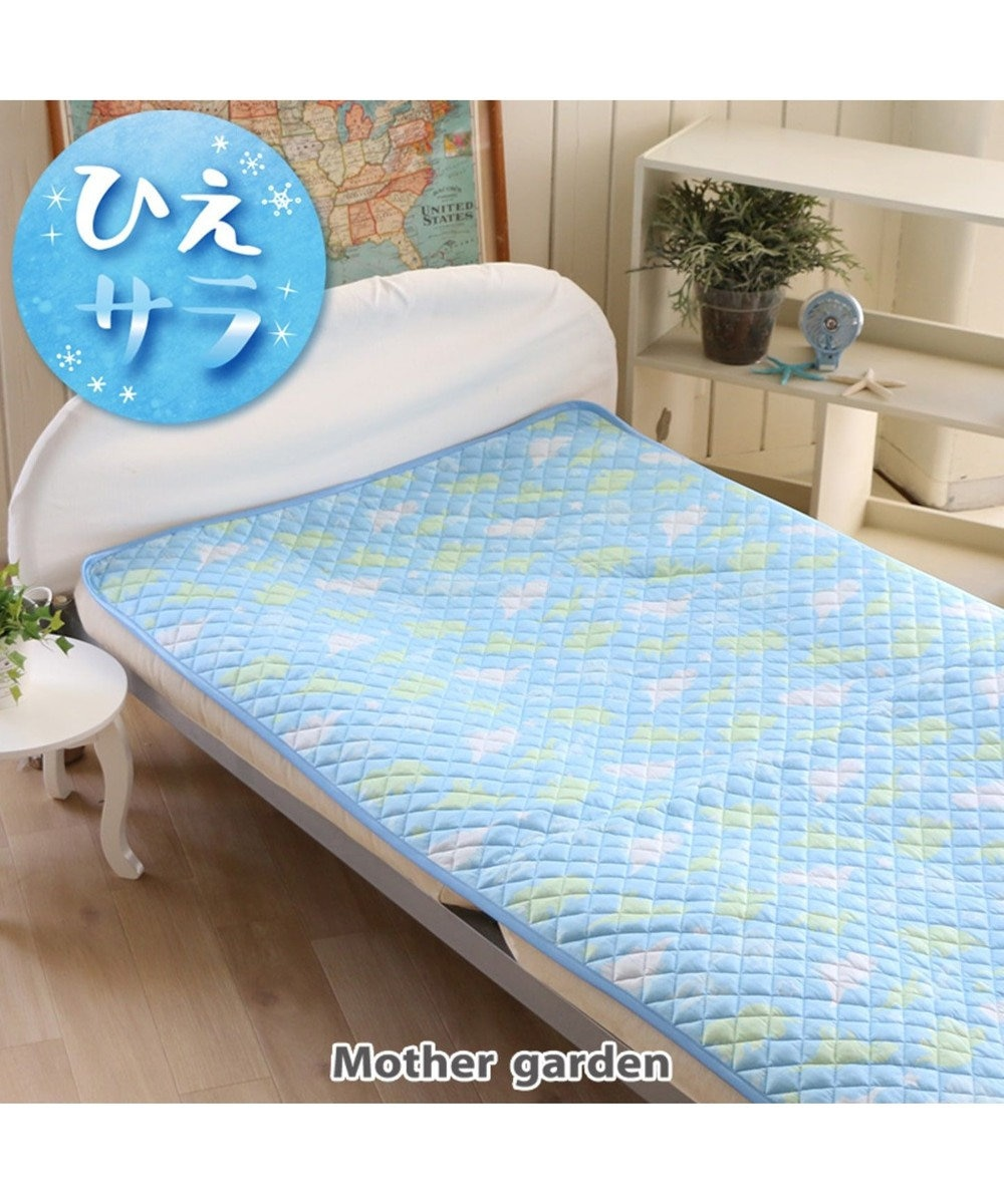 Mother garden きょうりゅう日記 クール 敷きパッド L 100×200 0