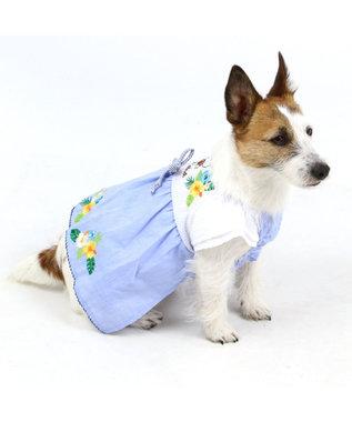 PET PARADISE スヌーピー アロハ ワンピース〔超小型・小型犬〕 水色