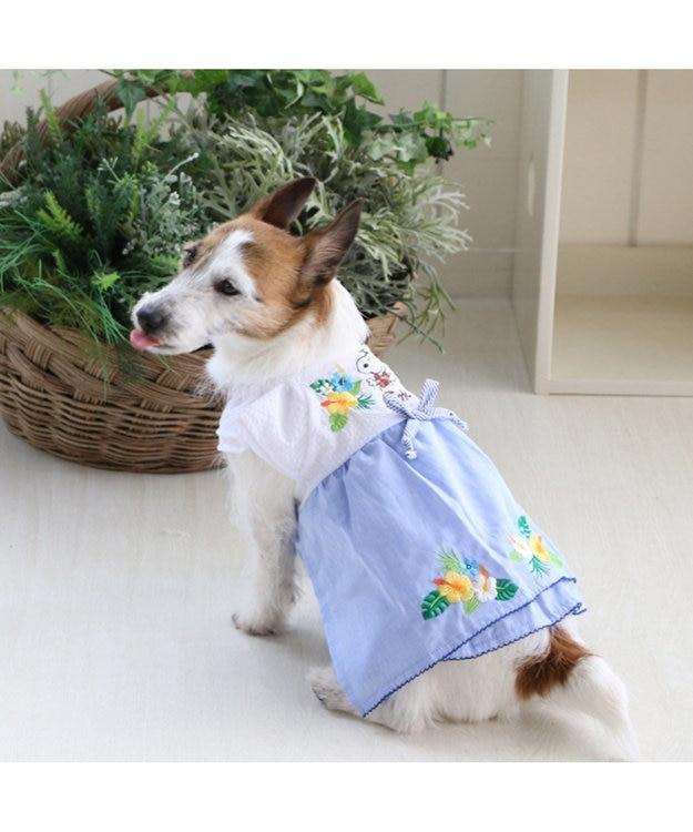 PET PARADISE スヌーピー アロハ ワンピース〔超小型・小型犬〕