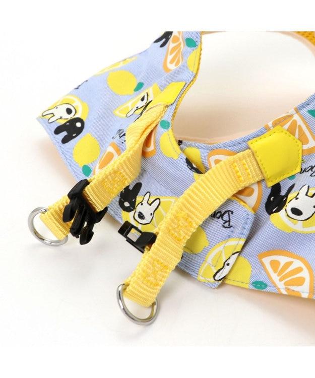 PET PARADISE リサとガスパール シトラス ベスト ハーネス SS 〔小型犬〕