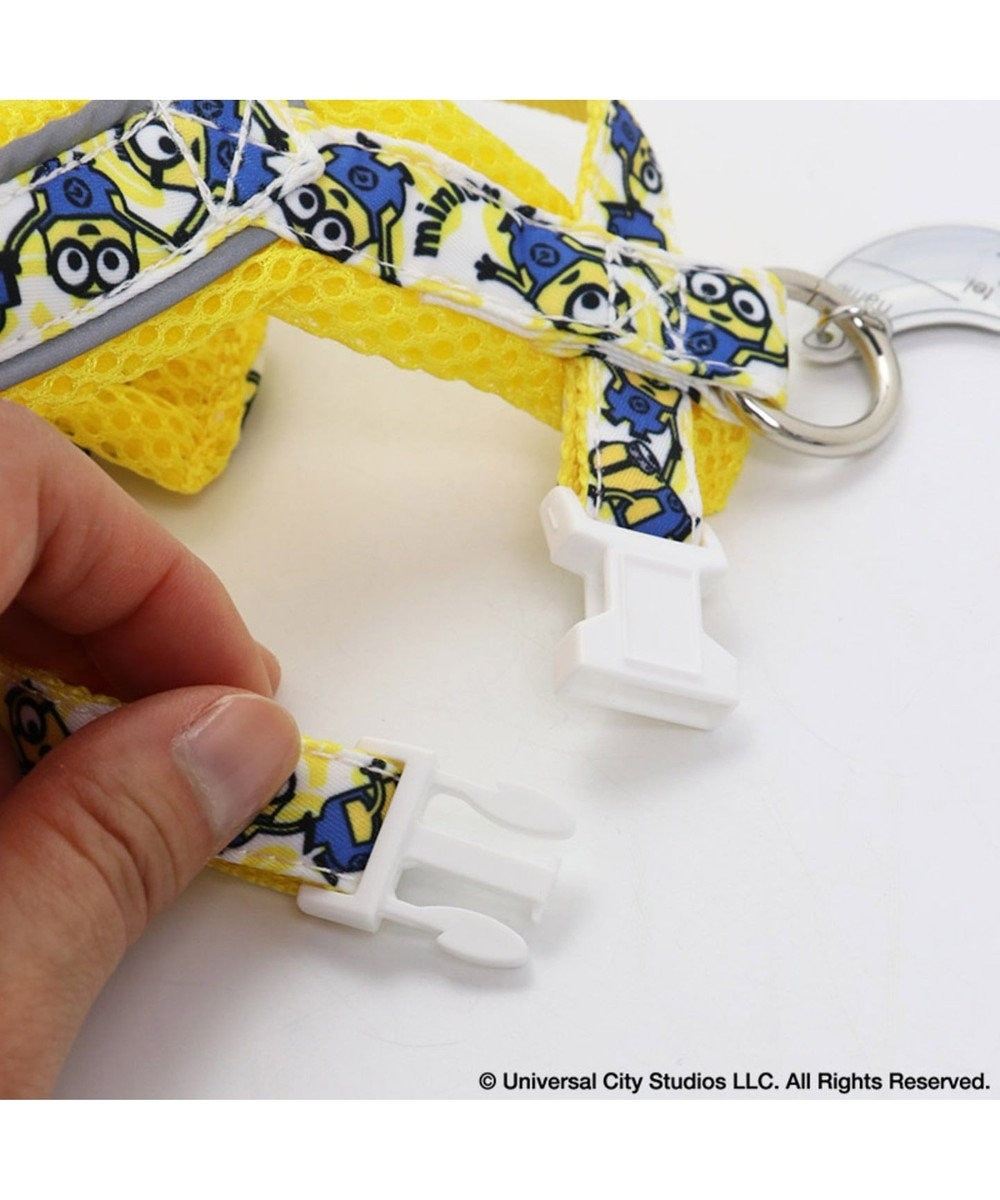 PET PARADISE ミニオン バナナハーネス 3S〔小型犬〕 超小型犬 小型 反射 黄