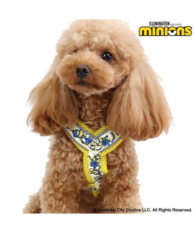 PET PARADISE ミニオン バナナハーネス 3S〔小型犬〕 超小型犬 小型 反射