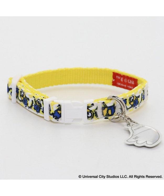 PET PARADISE ミニオン バナナ首輪 S 〔小型犬〕 犬 犬具