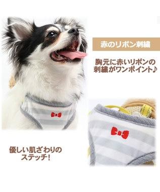 PET PARADISE ペットパラダイス くまリュック ハーネス&リード3S〔超小型犬〕 茶系
