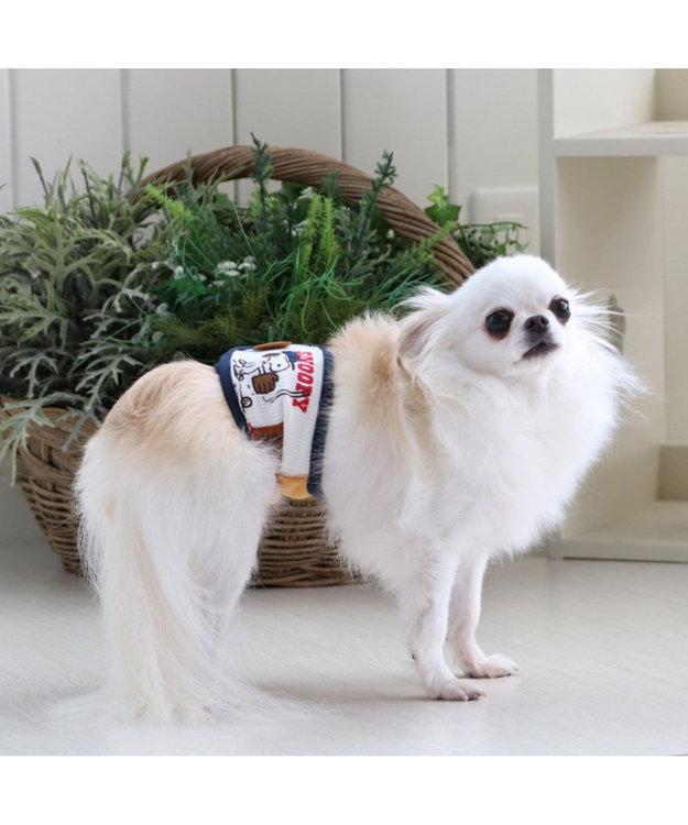 PET PARADISE スヌーピー 野球 マナーベルト〔超小型・小型犬〕