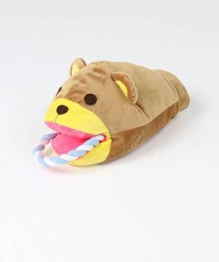 PET PARADISE ペットパラダイス 犬用おもちゃ パペットトイ くま ベージュ