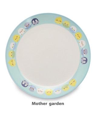Mother garden マザーガーデン こぴよフレンズ 平皿 プレート 《手つなぎ柄》 0