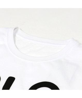 Mother garden しろたん Tシャツ 半袖 視力検査柄 白色 ユニセックス 白~オフホワイト