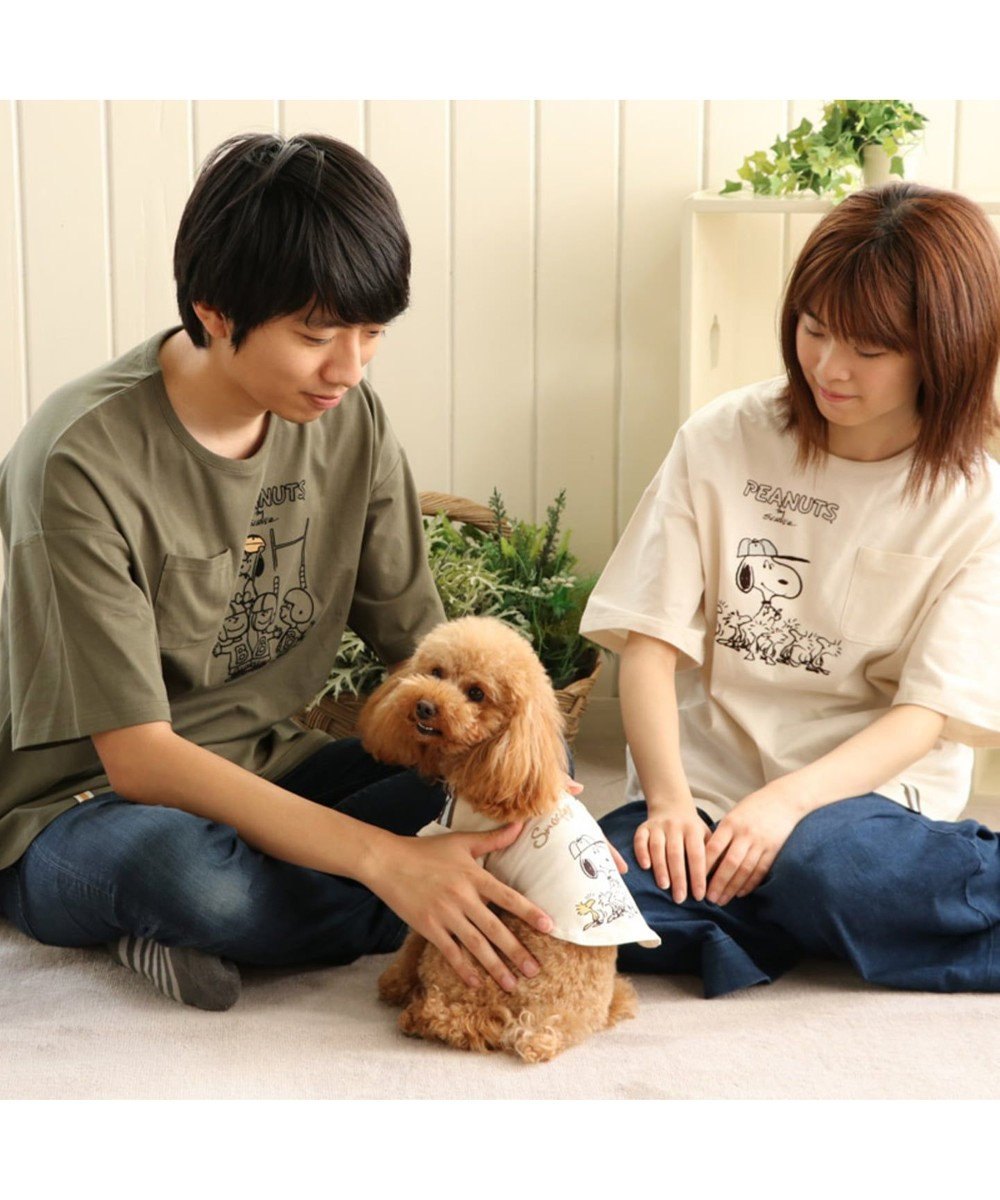 PET PARADISE スヌーピー スポーツ Tシャツ アメフト 〔超小型・小型犬〕 緑