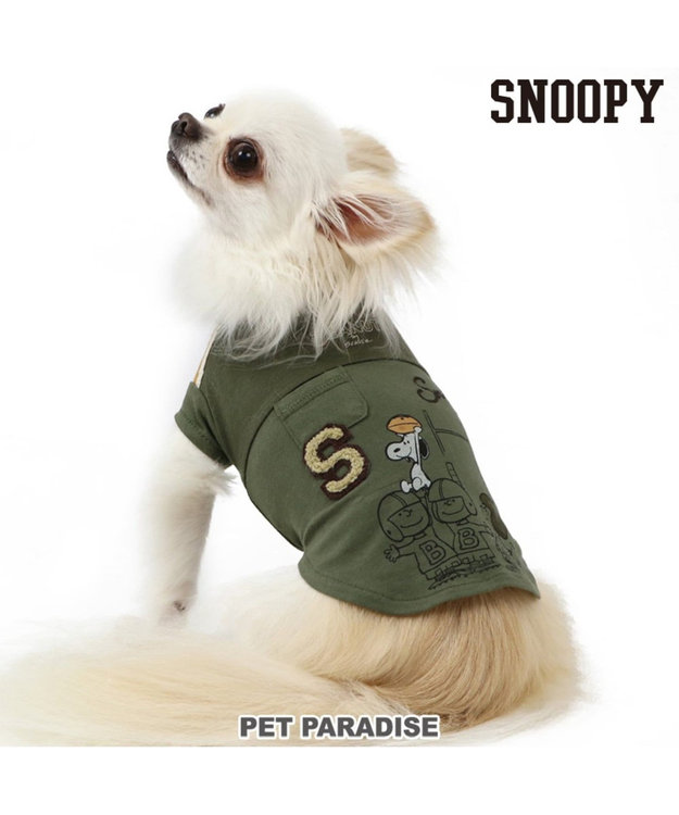 PET PARADISE スヌーピー スポーツ Tシャツ アメフト 〔超小型・小型犬〕