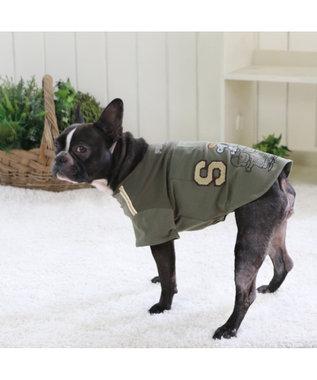 PET PARADISE スヌーピー スポーツ Tシャツ アメフト 〔中・大型犬〕 緑