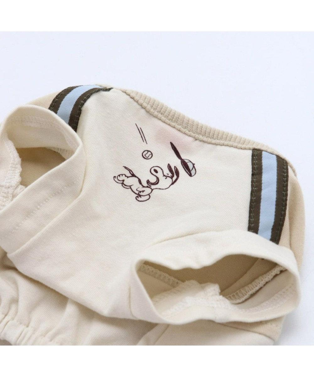 PET PARADISE スヌーピー スポーツ Tシャツ 野球 〔中・大型犬〕 白~オフホワイト