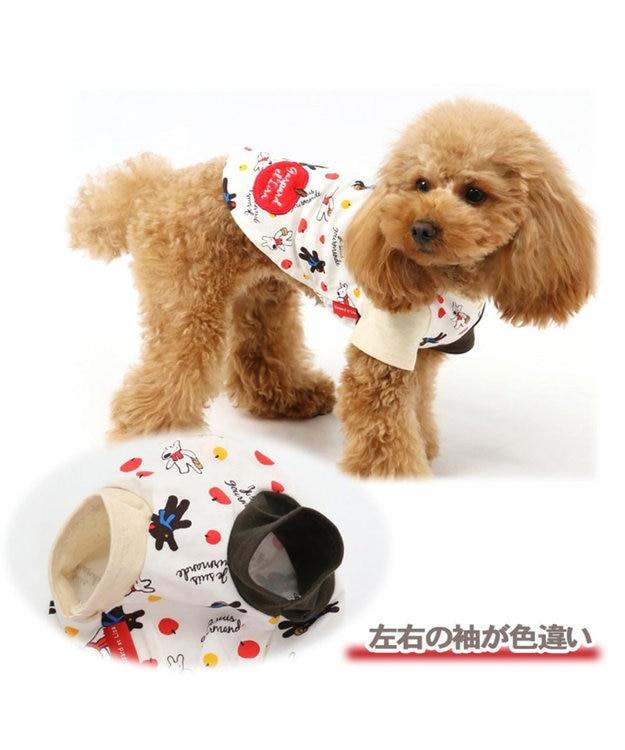 PET PARADISE リサとガスパール りんご Tシャツ 〔超小型・小型犬〕