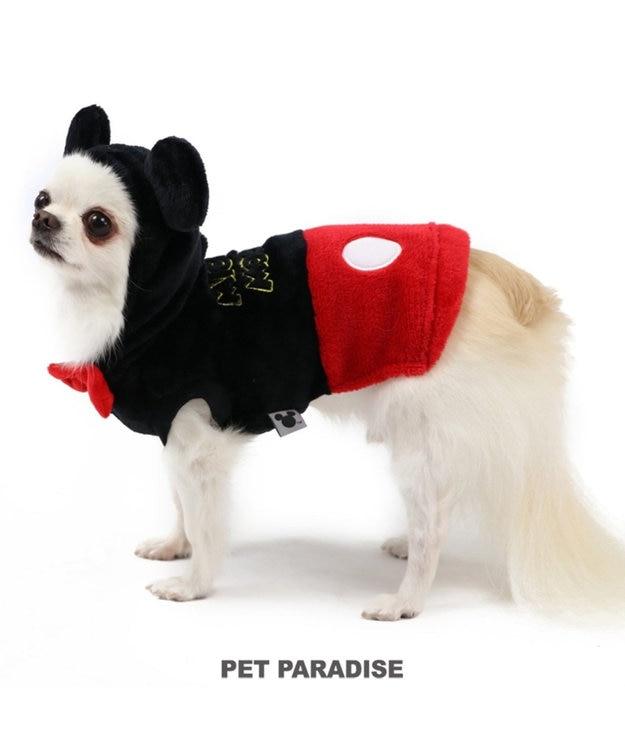PET PARADISE ディズニー ミッキーマウス ロゴ柄 なりきりミッキー 〔小型犬〕