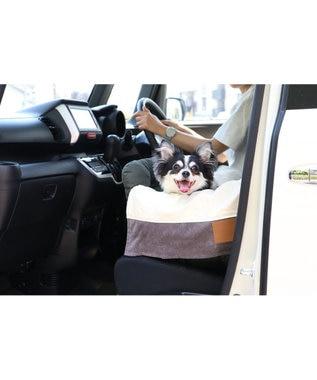 PET PARADISE ペットパラダイスペット ベッド ドライブ キャリーバッグ《カーキ》 【小型犬 】 犬 ドライブ ボックス ドライブシート ドライブベット ドライブベッド ドライブカドラー キャリーバッグ お出掛け 移動 車 おしゃれ かわいい ふわふわ 春 夏 秋 冬 カーキ
